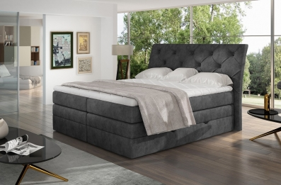 Discover the new arrival! Mirabel boxspring bed